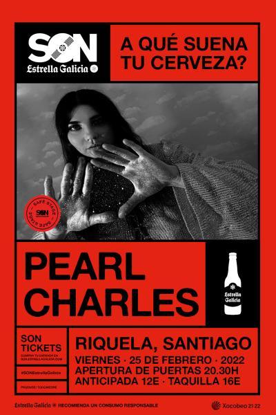 Pearl Charles en Santiago | SON Estrella Galicia