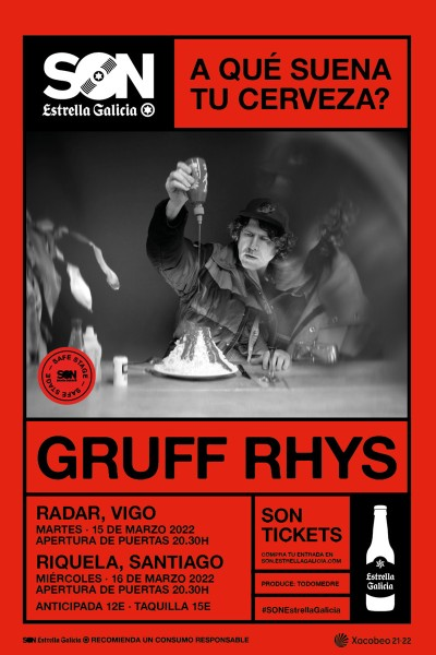 Gruff Rhyss en Santiago | SON Estrella Galicia