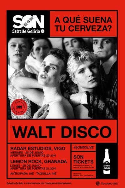 Walt Disco en Granada | SON Estrella Galicia