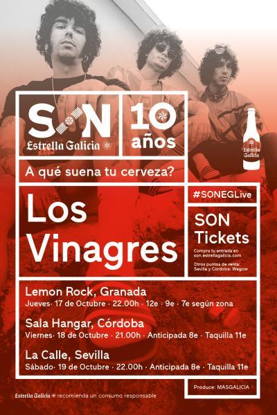 Los Vinagres en Córdoba | SON Estrella Galicia