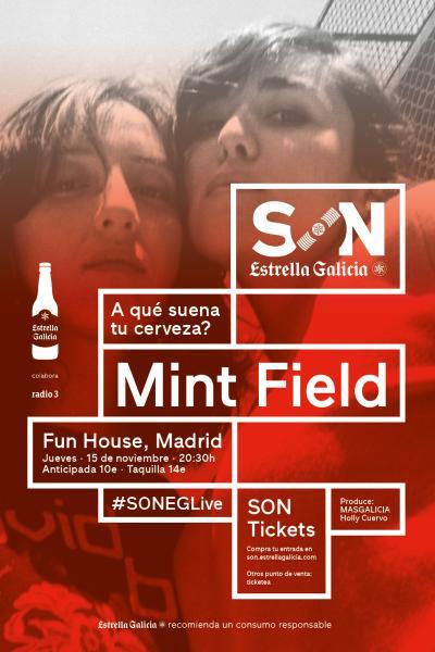 Mint Field en Madrid | SON Estrella Galicia