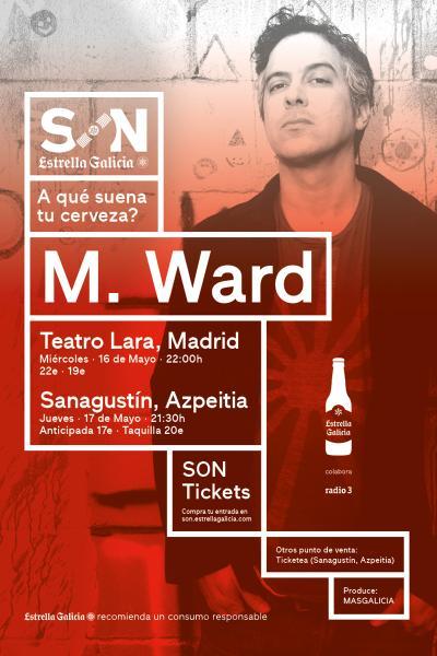 M Ward en Azpeitia | SON Estrella Galicia