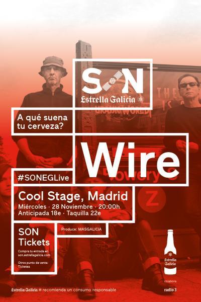 Wire en Madrid | SON Estrella Galicia