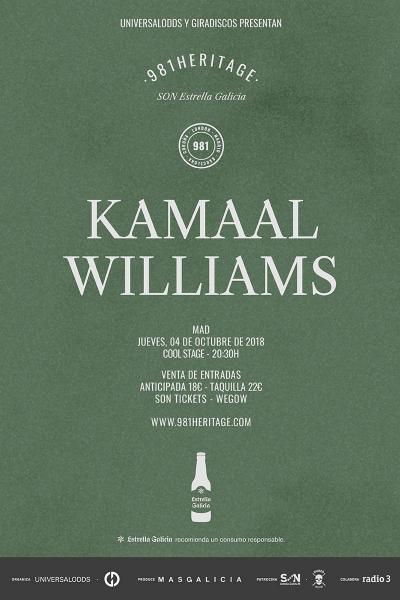 Kamaal Williams en Madrid | 981heritage