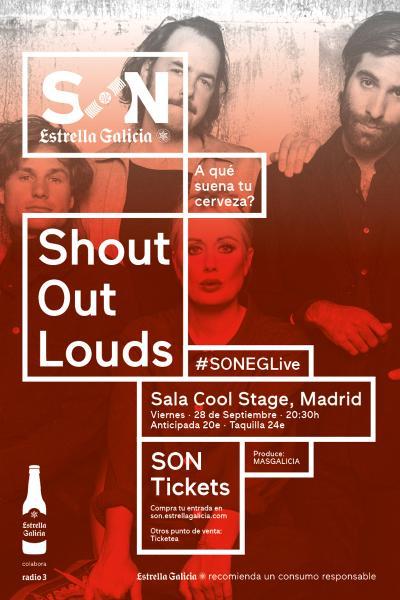 Shout Out Louds en Madrid | SON Estrella Galicia