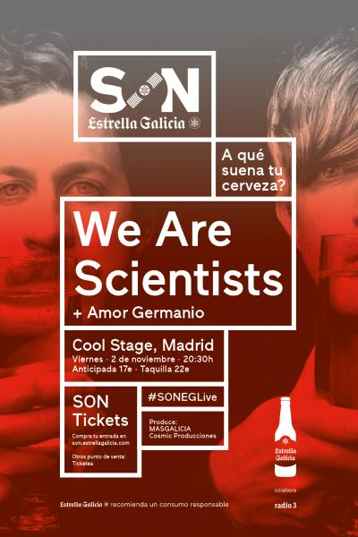 We Are Scientists en Madrid | SON Estrella Galicia