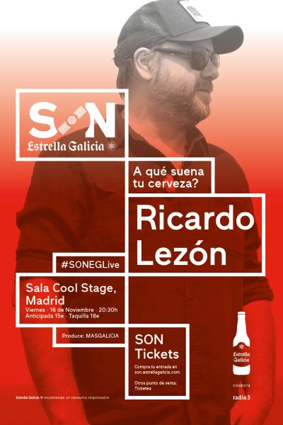 Ricardo Lezón (McEnroe) + El Verbo Odiado en Madrid | SON Estrella Galicia