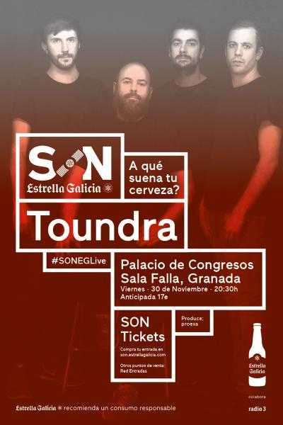 Toundra Vortex Tour 2018 en Granada | SON Estrella Galicia