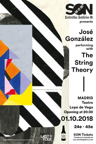 José González performing with The String Theory en Madrid | SON Estrella Galicia