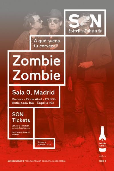 Zombie Zombie  en Madrid | SON Estrella Galicia