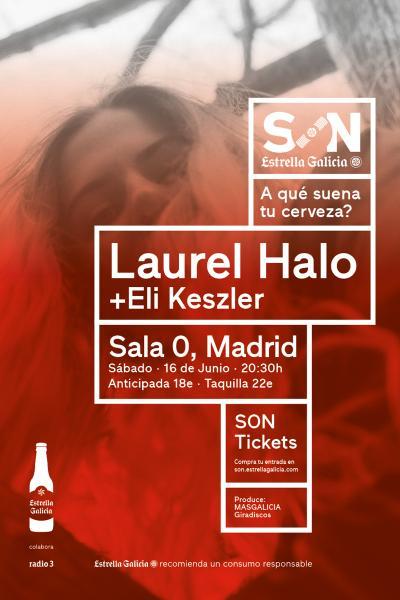 Laurel Halo + Eli Keszler en Madrid | SON Estrella Galicia
