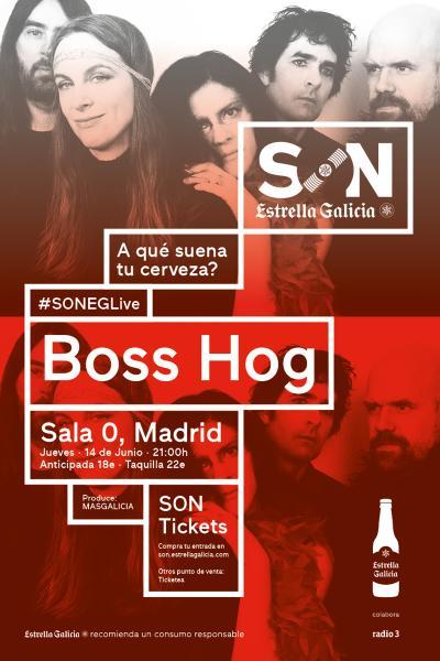 Boss Hog en Madrid | SON Estrella Galicia