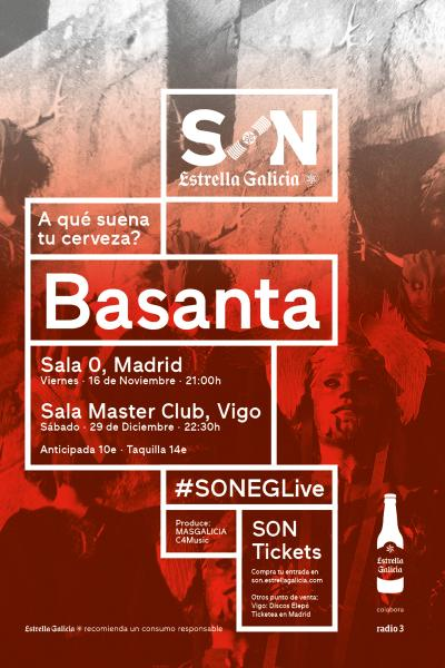 Basanta en Madrid | SON Estrella Galicia