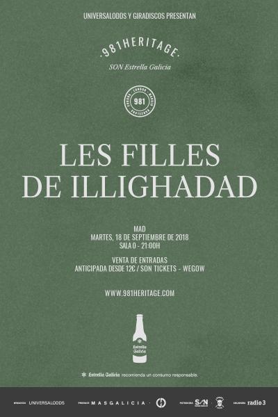 Les Filles de Illighadad en Madrid | 981heritage