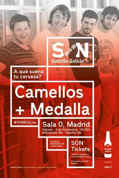 Camellos + Medalla en Madrid | SON Estrella Galicia