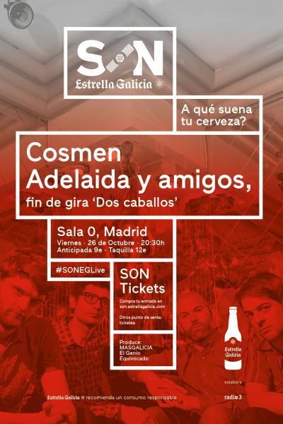Cosmen Adelaida y Amigos en Madrid   SON Estrella Galicia