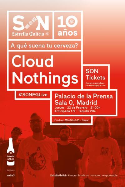 Cloud Nothings en Madrid | SON Estrella Galicia