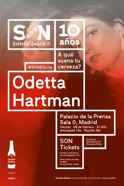 Odetta Hartman en Madrid | SON Estrella Galicia