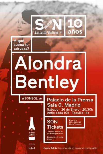 Alondra Bentley en Madrid | SON Estrella Galicia