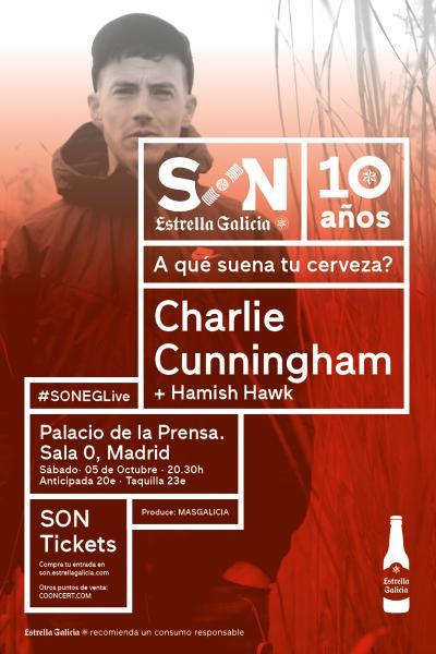Charlie Cunningham en Madrid | SON Estrella Galicia