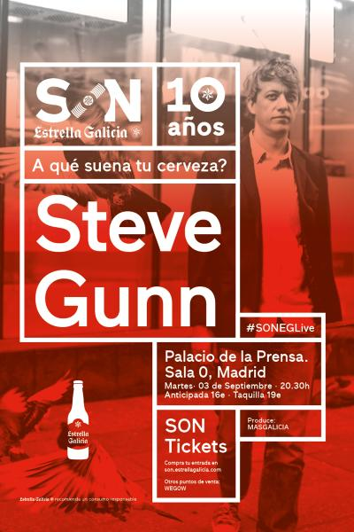 Steve Gunn en Madrid | SON Estrella Galicia