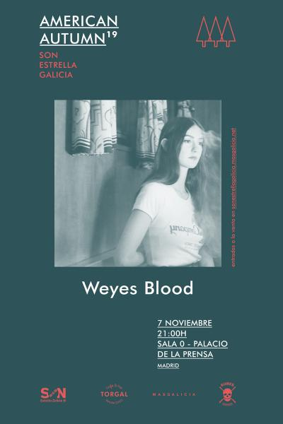 Weyes Blood en Madrid | American Autumn