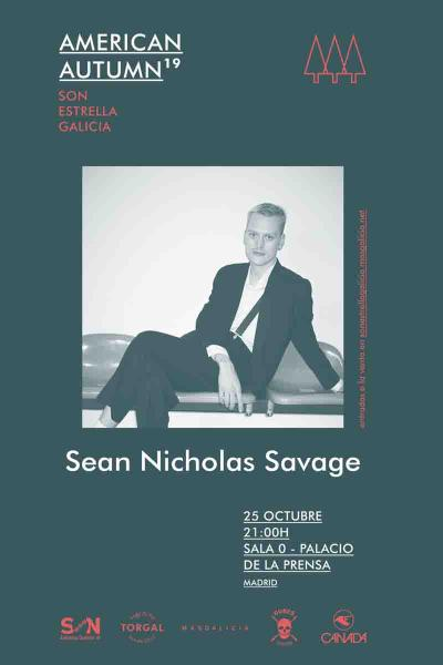 Sean Nicholas Savage en Madrid | American Autumn