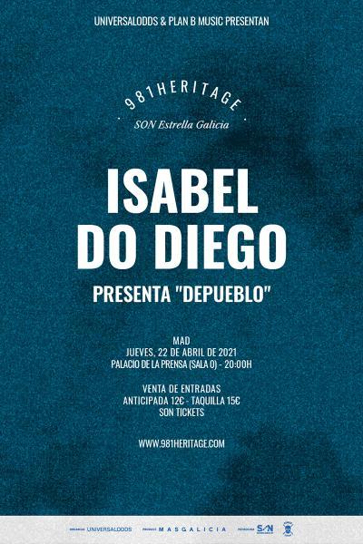 Isabel Do Diego en Madrid | 981heritage
