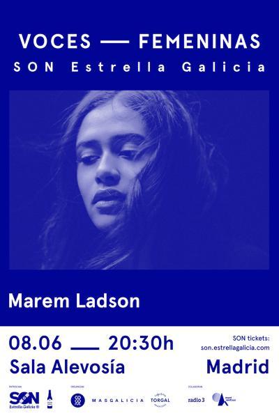Marem Ladson en Madrid | SON Estrella Galicia