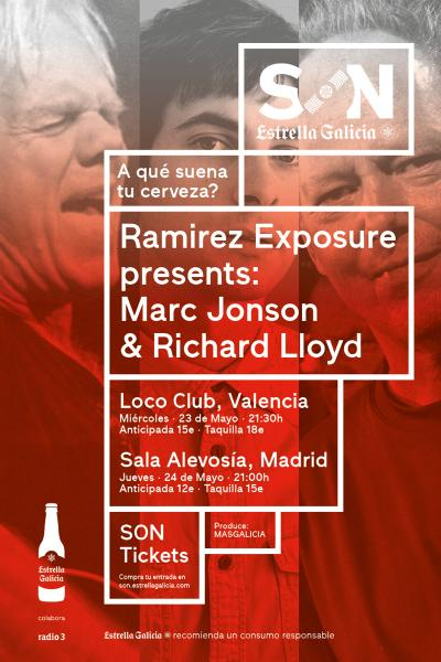 Ramirez Exposure presents Marc Jonson & Richard Lloyd | SON Estrella Galicia
