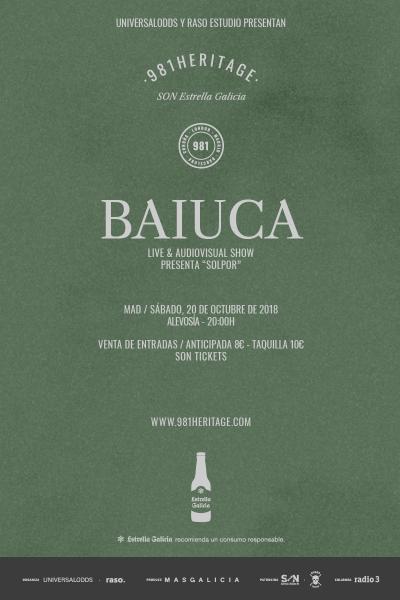Baiuca + Dreyma en Madrid | 981heritage