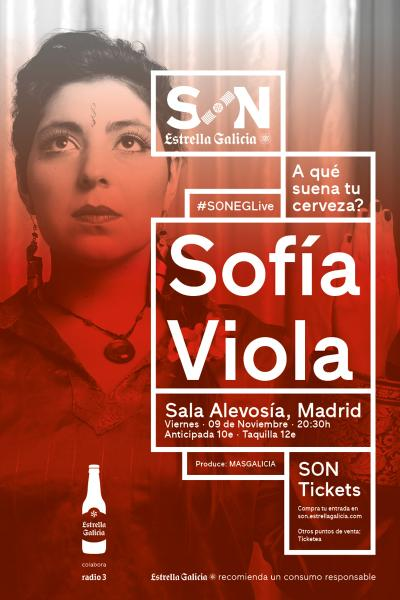 Sofía Viola en Madrid | SON Estrella Galicia