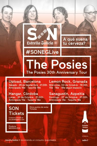 The Posies + Ramirez Exposure en Barcelona | SON Estrella Galicia
