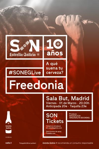 Freedonia en Barcelona | SON Estrella Galicia