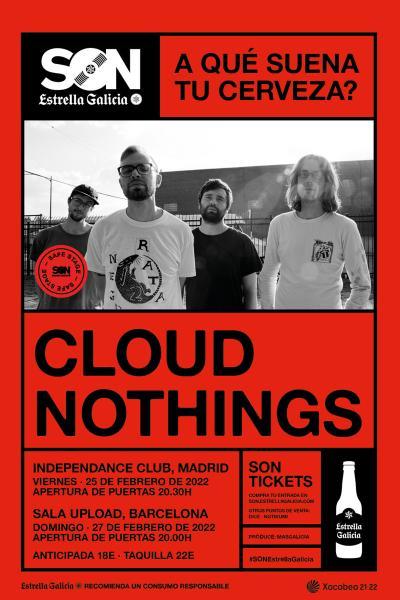 Cloud Nothings + Black Islands en Barcelona   SON Estrella Galicia