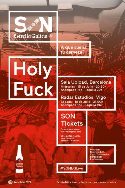 Holy Fuck en Barcelona | SON Estrella Galicia