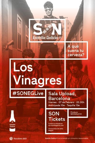 Los Vinagres en Barcelona | SON Estrella Galicia