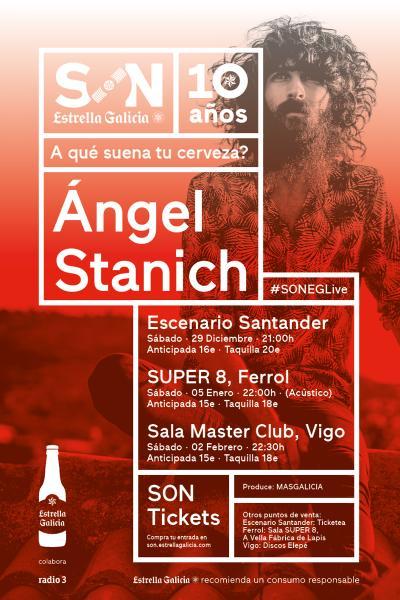 Ángel Stanich en Vigo | SON Estrella Galicia
