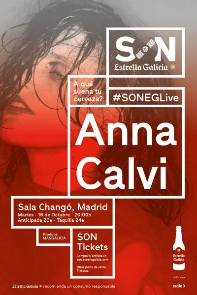 Anna Calvi en Madrid | SON Estrella Galicia