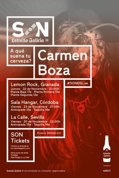 Carmen Boza en Sevilla | SON Estrella Galicia