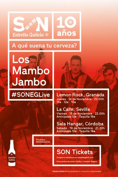 Los Mambo Jambo en Sevilla   SON Estrella Galicia