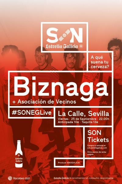 Biznaga + Asociación de Vecinos en Sevilla | SON Estrella Galicia
