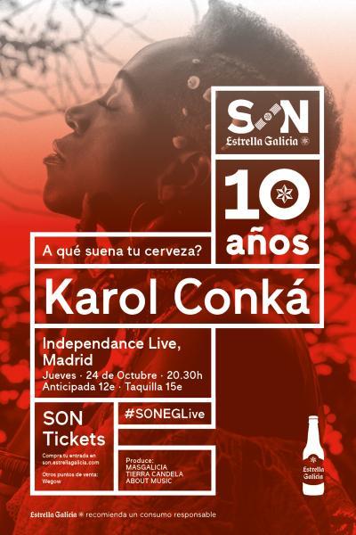 Karol Conká en Madrid | SON Estrella Galicia