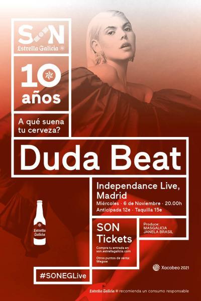 Duda Beat en Madrid | SON Estrella Galicia