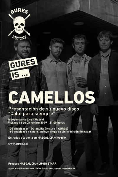 Camellos en Madrid | Gures is on tour