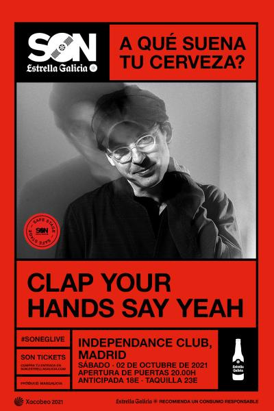 Clap Your Hands Say Yeah en Madrid | SON Estrella Galicia