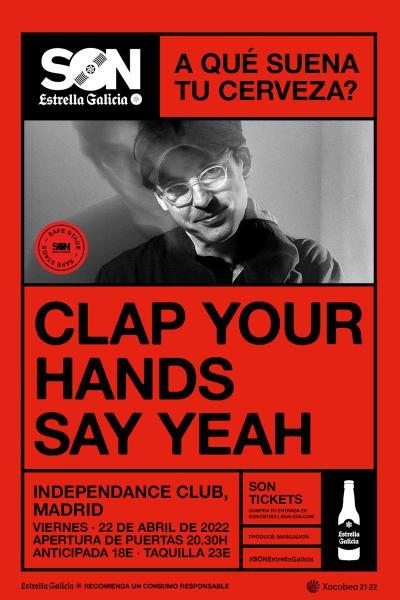 Clap Your Hands Say Yeah en Madrid | SON Estrella Galicia