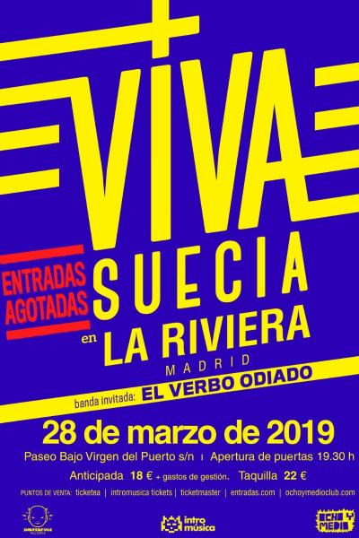 Viva Suecia en La Riviera [ENTRADAS AGOTADAS]