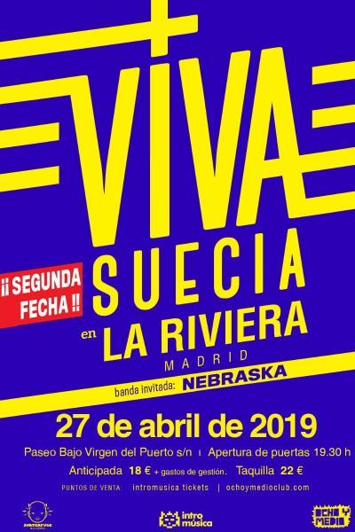 Viva Suecia en La Riviera (Madrid) - SEGUNDA FECHA