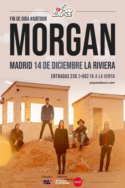 MORGAN: fin de gira en Madrid (La Riviera) [ENTRADAS AGOTADAS]